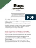 Elengoa- La Lengua Celeste