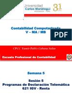 Programas de Declaración Telemática 621 IGV Renta
