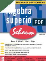 Algebra Superior 3ed Spiegel