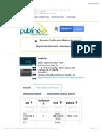 Publindex JUSTICIA