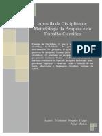 Apostila Metodologia da pesquisa e do Trabalho Cientifico.pdf