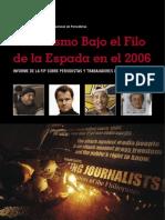 INFORME ANUAL DE LA FIP - 2006