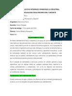 TALLER 1 EDUCACIÓN FÍSICA