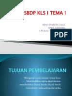 SBDP KLS I TEMA I