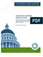 Sacra Men To and Marin Audit Report