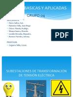 SUBESTACIONES DE TRANSFORMACIÓN DE TENSIÓN ELÉCTRICA