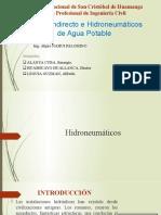 Sistema Indirecto E Hidroneumaticos De Agua Potable.pptx