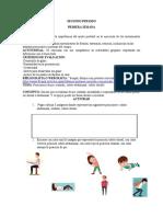 GUIAS 3° DE LA ASIGNATURA DE EDUCACIÓN FÍSICA 2° P.