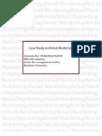 Case Study on Retail Marketing