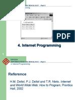 4 Internet Programming