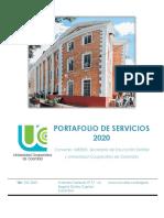 Portafolio - inmersión y cursos cortos 2020 VF