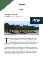 The Origin of Onam - varnam.pdf