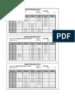 JADWAL FIX 2019-2020 Revisi Pare-Pare
