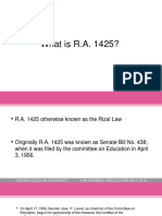 8 (new)What is RA 1425