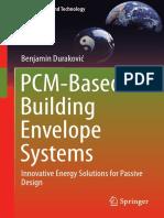 [Green Energy And Technology] Benjamin Duraković - PCM-Based Building Envelope Systems_ Innovative Energy Solutions For Passive Design (2020, Springer) - libgen.lc