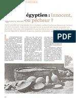 Marshall, Mythologies 30 (2018), L'enfant égyptien. Un être innocent, ignorant ou pécheur