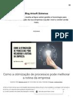 Como a otimização de processos pode melhorar a rotina da empresa - Sistema de Gestão ERP para Micro e Pequenas empresas