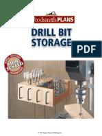 Drill Bit Storage - Woodsmith Shop