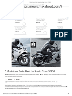 5 Must-Know Facts About the Suzuki Gixxer SF250