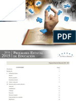 PROGRAMA ESTATAL DE EDUCACION 2010-2015