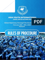 RULES OF PROCEDURE AYIMUN 2020.pdf
