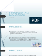2 INTRODUCCION A LA FARMACOLOGIA