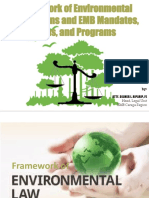 Framework of Environmental Regulations 2nd Version