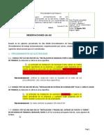 OBSERVACIONES PROCEDIMIENTOS DE ELECTRICIDAD E INSTRUMENTACION.docx
