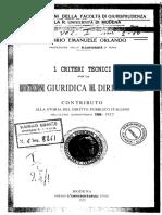 1889_V_E_ Orlando_I criteri tecnici per la ricostruzione giuridica del diritoto pubblico.pdf
