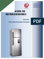 Curso Reparación refrigeradores nivel avanzado