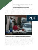 ROBO DE LA  JOYA PRESIDENCIAL REALIDAD O MONTAJE