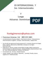 Comercio Internacional y Acuerdos Internacionales