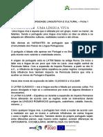 DIVERSIDADE LINGUÍSTICA E CULTURAL. FICHA 1- 2.doc