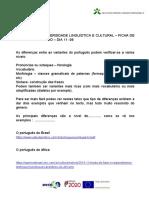 DIVERSIDADE LINGUÍSTICA E CULTURAL- FICHA DE APOIO AO TRABALHO.doc