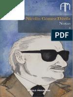 Nicolás Gómez Dávila - Notas, Vol 1