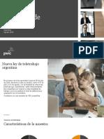 Ley de Teletrabajo - Informe PwC Argentina
