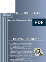 01. DEFINICION PRESUPUESTOS