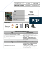 ST-PR-05  Procedimientos de seguridad  (Selladora manual)