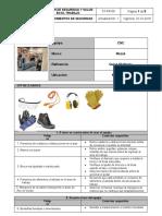 ST-PR-08 Procedimientos de seguridad (CNC Multiplex 410)