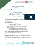 Documento N° 3  20 Orientaciones sobre la enseñanza de la lectura y la escritura a distancia UP DPEP