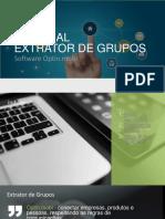 Extrator Grupos