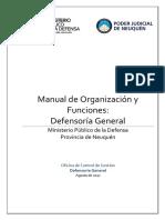 Manual de Organización y Funciones_MPD Neuquen