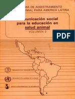 Comunicación Social para la salud Animal  (1)