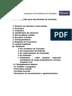 documento adicional 11 Sugestão pauta Reunião Conselho