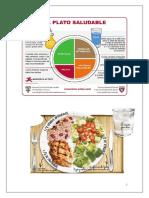 Graficas de almuerzo y cena