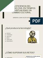 La eficiencia del proceso civil en tiempos de