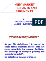 MONEY MARKET PARTICIPANTS & INSTRUMENTS
