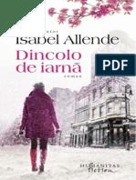Allende, Isabel - Dincolo de iarnă