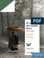 El santo del monte Koya y otros relatos - Kyoka Izumi