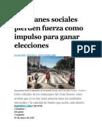 30-01-19-Los planes sociales pierden fuerza como impulso para ganar elecciones